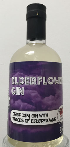 Crft Elderflower gin 35cl bottle